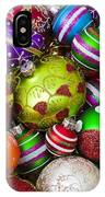 Pile Of Beautiful Ornaments IPhone Case