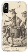 Pilgrimage To French Bucholz IPhone Case