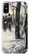 Pilgrims: Church IPhone Case