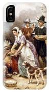 Pilgrims: Thanksgiving, 1621 IPhone Case