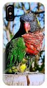 Pillar Perch IPhone Case
