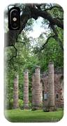 Pillars Of Sheldon Church Ruins IPhone Case