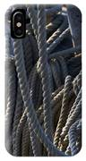 Pin Rail And Rope IPhone Case