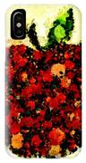 Pinatamiche Painting Crackle Art IPhone Case
