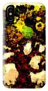 Pinatamiche Tree Painting In Crackle Paint IPhone Case