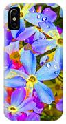 Pincushion Flower IPhone Case
