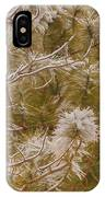 Pine And Bitter Sweet Vine IPhone Case