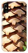 Pine Cone Art Prints Pine Tree Artwork Baslee Troutman IPhone Case