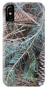 Pine Cone Brush IPhone Case