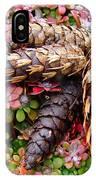 Pine Cones Art Print Botanical Garden Baslee Troutman IPhone Case