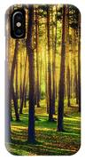 Pine Forest In La Boca Del Asno-segovia-spain IPhone Case