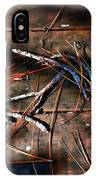 Pine Needles And Sticks IPhone Case