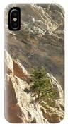 Pine On Limestone Wall IPhone Case