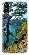 Pine Over The Bay IPhone Case