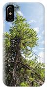 Pine Tree Alive IPhone Case