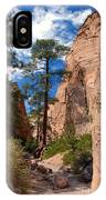 Pine Tree Canyon IPhone Case