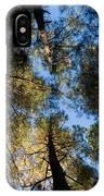 Pine Trees Near Ruidoso Nm IPhone Case