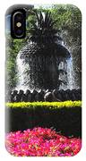 Pineapple Fountain Charleston Sc IPhone Case