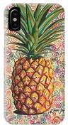 Pineapple Pattern IPhone Case