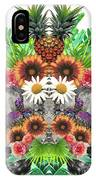 Pineapples And Crystals IPhone Case