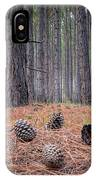 Pines And Needles 4 IPhone Case