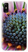 Pink African Daisy Detail IPhone Case