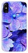 Pink And Blue Hydrangea 4 IPhone Case