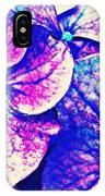 Pink And Blue Hydrangea IPhone Case