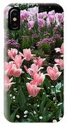 Pink And Mauve Tulips IPhone Case