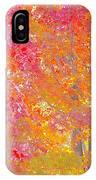 Pink And Orange Autumn IPhone Case