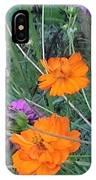 Pink And Orange Merger IPhone Case