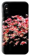 Pink And White Bush IPhone Case