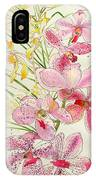 Pink And Yellow Orchids IPhone Case