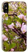 Pink Aplle Blossoms Of Spring Time IPhone Case