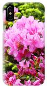 Pink Azalea Flowers Landscape 11 Art Prints Canvas Artwork Framed Art Cards IPhone Case