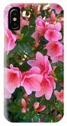 Pink Azaleas IIi IPhone Case