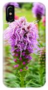 Purple Blazing Star 01 IPhone Case