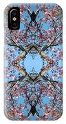 Pink Blossom Mandala IPhone Case
