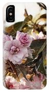 Pink Blossoms IPhone X Case