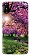 Pink Canopy IPhone Case