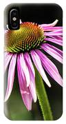 Pink Coneflower IPhone Case