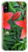 Pink Daylilies IPhone Case