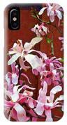 Pink Floral Arrangement IPhone Case