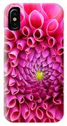 Pink Flower Close Up IPhone Case