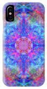 Pink Flower Of Life Mandala IPhone Case