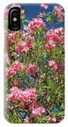 Pink Flowering Shrub IPhone Case