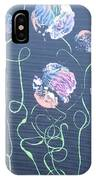 Pink Flowers - 4 IPhone Case