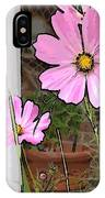 Pink Flowers Of Summer IPhone Case