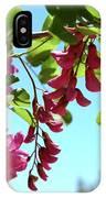 Pink Flowers Virginia City Nv IPhone Case