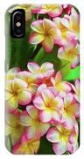 Pink Frangipani IPhone Case